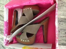 Chinese Laundry Size 6.5 Suede Heels New In Box