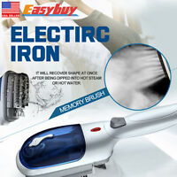 Portable Handheld Electric Fabric Travel Home Iron Laundry Clothes Steam Brush