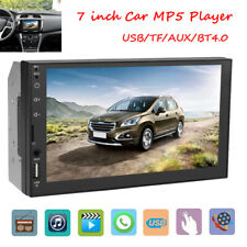 7inch 2 DIN Car HD MP5 Touch Screen Bluetooth FM Player Stereo Radio Multimedia