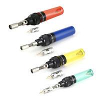 Metal Gas Blow Torch Soldering Iron Pen Burner Solder Butane Welding Tools New