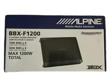 Alpine BBX-F1200 4 Channel Amplifier - NEW