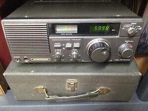Kenwood R-600 Short Wave Radio Receiver - Grey