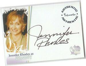 Charmed Destiny - A-3 Jennifer Rhodes - Penny Autograph/Auto Card Inkworks 2006