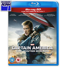 [MARVEL] CAPTAIN AMERICA: THE WINTER SOLDIER Blu-ray 3D + 2D (REGION-FREE)