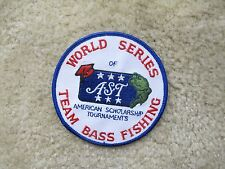 WORLD SERIES OF AST TEAM BASS FISHING PATCH---006