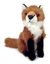 New Ark toys sitting fox soft cuddly toy plush stuffed wild British animal