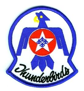 F-16 FIGHTING FALCON THUNDERBIRDS DISPLAY TEAM PILOT SHOULDER iron-on PATCH