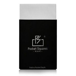 Pre Folded Pocket Square, Satin ..Presidential
