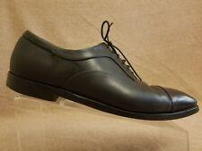 4eb53a8817b70 Silvano Sassetti for Bergdorf Goodman Men Black Leather Cap Toe Oxford Shoes  10