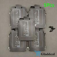 5PCS HP EliteBook 840 850 G1 G2 Hard Drive HDD Caddy Frame Bracket Screws NO G3