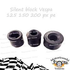 Silent block motore e ammortizzatore carter  Vespa 125 150 200 px pe prima serie