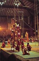 Peru Indiana~Circus City Festival Arena Interior~Circus Acrobats~1984 Postcard