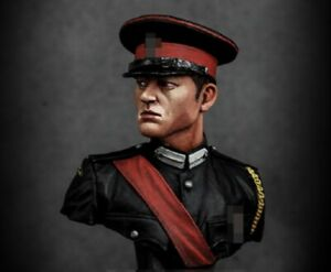 1/12 BUST Resin Model Kit Graduate of the British Military Academy Unpainted
