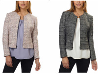 NEW! Anne Klein Ladies' Embellished Tweed Jacket VARIETY SIZE AND COLORS!