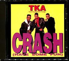 TKA FEATURING MICHELLE VISAGE - CRASH (HAVE SON FUN) - USA CD MAXI [2355]