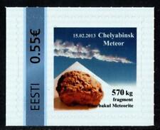 ESTONIA 2013 CHELYABINSK METEORITE Single personalized MNH