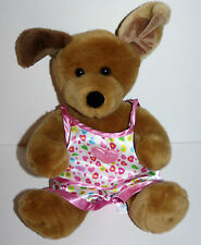 Build a Bear dog heart Slumber party pjs Plush stuffed animal 11 inches