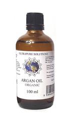 100ML ARGAN OIL - ORGANIC - 100% Pure Cold Pressed Moroccan - DROPPER