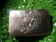 ANTIQUE GORHAM STERLING SILVER JEWELRY or SNUFF BOX