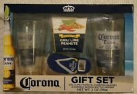 Corona Extra Beer Pint Glass Set 2 Cups 16 Oz Find Your Beach Gift Set