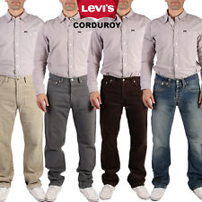 VINTAGE  LEVIS CORDS CORDUROY JEANS STRAIGHT LEG TROUSERS  W26 in. to 42 in.