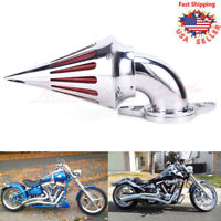 Air Filter Spike Intake Cleaner Kit For Harley Dyna Touring Street Road Glide US