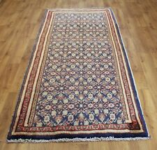 OLD WOOL HAND MADE PERSIAN ORIENTAL FLORAL RUNNER AREA RUG CARPET 250 X 106 cm