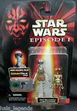 Star Wars Episode I. 1. ODY MANDRELL & OTOGA w/Electronic Commtalk Chip. New!