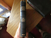 Holy Bible Concordance New Scofield Edition Reference Edition Oxford  1969
