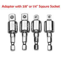"1/5 pcs Socket Converter Convertor Reducer Reducing Ratchet Adapter 1/4"" 3/8"""