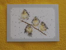 Meisen Postkarten Grußkarten HANGING OUT. Wrendale Designs Vögel Vogel Birds ast