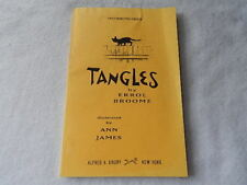 Tangles by Errol Broome-1993-Uncorrected Proof