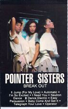 """Pointer Sisters  """"Break Out""""  Used Cassette (1983) Produced by Richard Perry"""