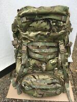 Genuine British Army Late Issue MTP Virtus 90L GU MK2 Bergen Bergan Rucksack NEW