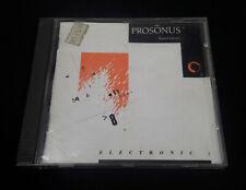 Sampling CD - Prosonus Sound Library - Electronic Volume One