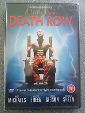 A LETTER FROM DEATH ROW - MARTIN SHEEN - DVD - (NEW & SEALED)