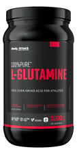 Body Attack 100% Pure L-Glutaminsäure - 1000 g Dose - 1 kg - Aminosäuren Amino