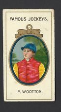 TADDY - FAMOUS JOCKEYS (WITH FRAME) - F WOOTTON