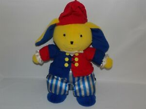 """Rare 2004 Discovery Toys 13"""" CLASSY CASEY Bunny Classical Music Plush Musical"""