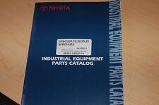 Toyota 8fbcu 8fbchu 20 25 28 30 32 Forklift Truck Parts Manual Book Catalog List