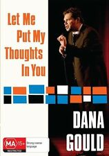 Dana Gould - Let Me Put My Thoughts In You (DVD, 2010)