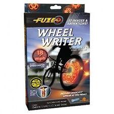 Fuze Wheel Writer Kids Bicycle Bike Spoke LED Light Display Digital Effects