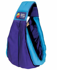 Brand New Baba Sling Baby Carrier 2 Tone Purple Turquoise Two Tone