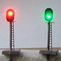 Z0A,6 model signals,N scale signal ,12V
