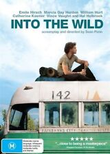 INTO THE WILD DVD=EMILE HIRSCH-WILLIAM HURT=REGION 4 AUSTRALIAN=NEW AND SEALED