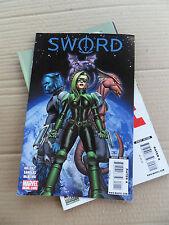 S.W.O.R.D  1 - 5 . lot complet . Marvel 2010 - VF - minus