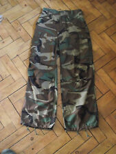 Genuine U.S military cold weather field trousers dpm 27 inch waist unissued