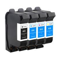 4x Ink Cartridges For HP 40 HP44 Designjet 230 250C 330 350C 430 450C 455CA 488C