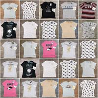 Ladies Character Primark Casual Daytime TOP Short Sleeve T-Shirt Womens Disney