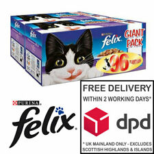 Felix Favourites Selection Cat Food in Jelly 96 x 100g Pouch Giant Pack